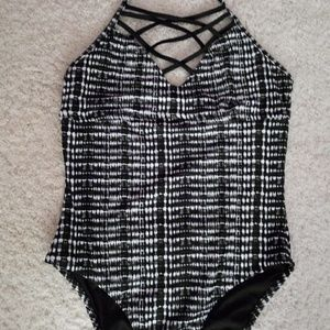 NWT Mossimo Cage Chest Swim Suit